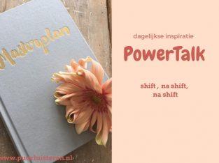 PowerTalk- traject…..voor de moeder die wil doorbreken in zichzelf