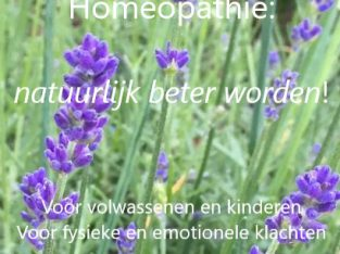 Homeopathie: natuurlijk beter worden