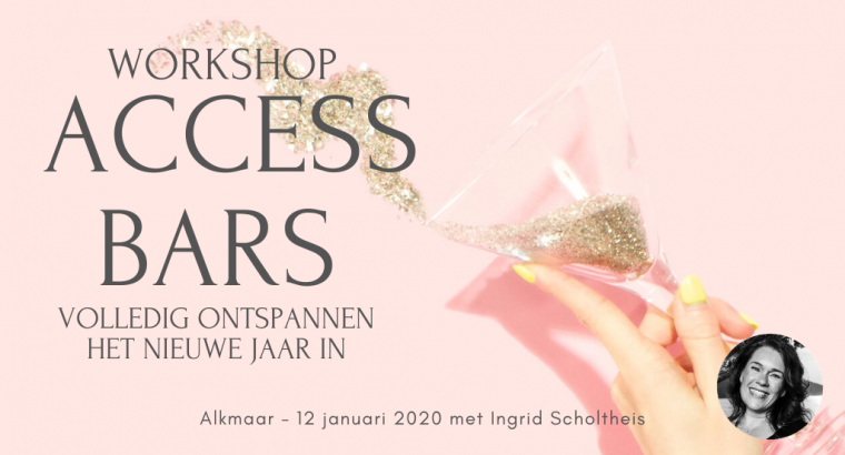 Access Bars Workshop – 12 januari 2020