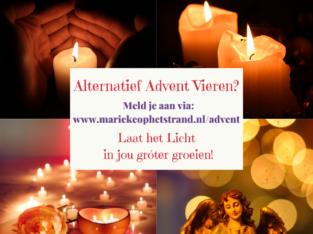 Kom jij ook gratis Alternatief Advent Vieren?