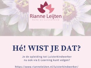 Word Luisterkindwerker: E-Learning